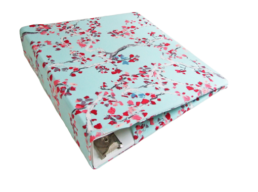 floral binder covers for 2 3 wide standard binder sewing the abcs
