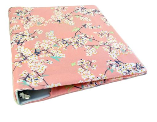 Wedding Planning Binder Floral Fabric Binder Cover