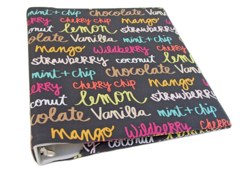 novelty binder covers for 1 1 5 wide standard binder sewing the abcs